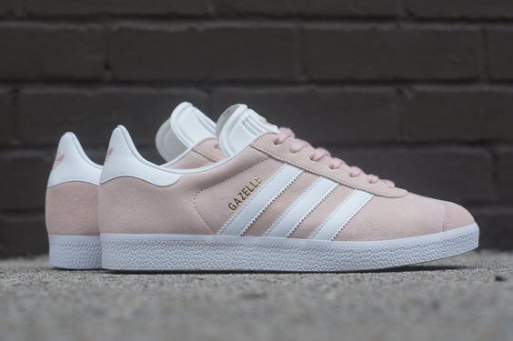 adidas gazelle rosa outfit