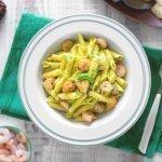 pasta gamberetti e zucchine