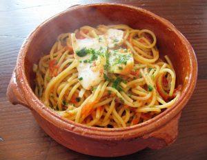 spaghetti risottati tonno e pachino Bimby
