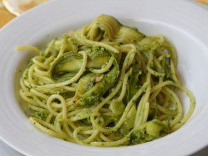 pesto basilico e zucchine