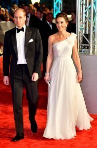 Kate Middleton in bianco