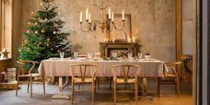 come addobbare tavola per le feste