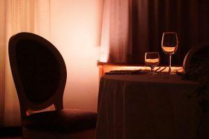 cena romantica a casa